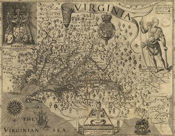 John Smith's Map of Virginia (1612) - Digital & Print - Primary Source Analysis