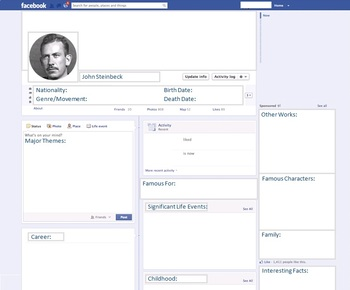 John Steinbeck - Author Study - Profile and Social Media