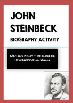 John Steinbeck - Biography