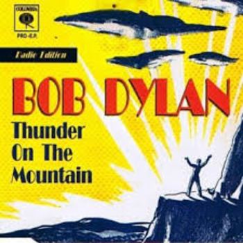 "John Steinbeck: ""Of Mice and Men"" Song ""Thunder on the Mountain"" Bob Dylan"