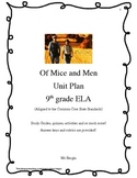 John Steinbeck's Of Mice and Men Unit Plan