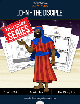 John: The Disciple Activity Book