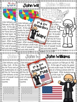 John Williams Biographies (Composer of the Month)