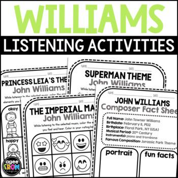 John Williams, Composer Music Unit Study, February Birthday