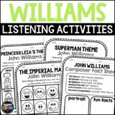 John Williams Composer Listening Activities, February