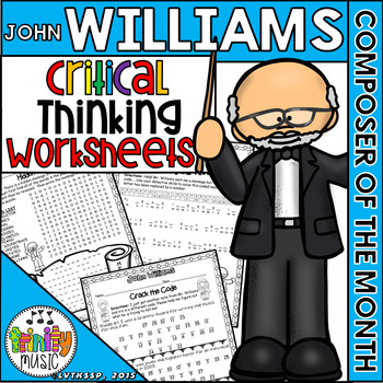 John Williams Critical Thinking Worksheets (Composer of th