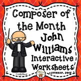 John Williams Interactive Worksheets (Composer of the Month)
