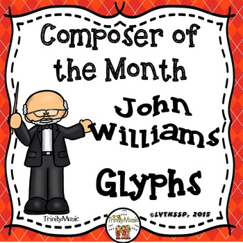 John Williams Listening Glyphs (Composer of the Month)