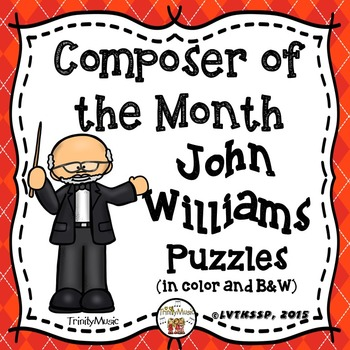 John Williams Puzzles (Composer of the Month)