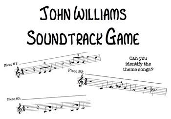 John Williams Soundtrack Music Game