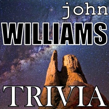 John Williams Trivia Game - Elementary Music - Composer Jeopardy POWERPOINT