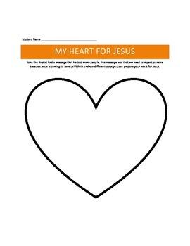 John the Baptist K-5 Sunday School Lesson