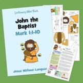 John the Baptist - Kidmin Lesson & Bible Crafts