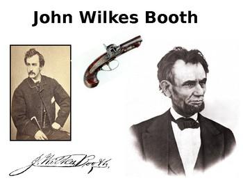 John Wilkes Booth Source Analysis Activity