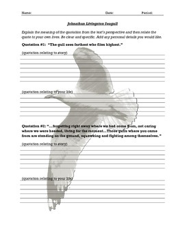 Johnathan Livingston Seagull - Quotations