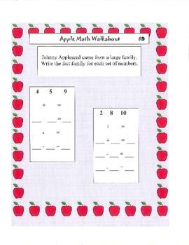 Johnny Appleseed Apple Theme Math Scoot Second Grade Skills
