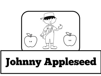 Johnny Appleseed Activity  | Johnny Appleseed Craft | Johnny Appleseed Unit