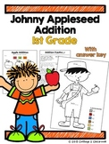 Johnny Appleseed 1st Grade Addition Pack