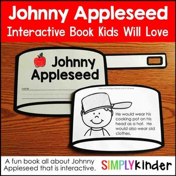Johnny Appleseed Interactive Book with Craft Cover