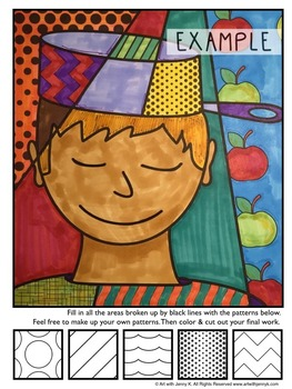 Johnny Appleseed Interactive Coloring Sheets - Fall Activity