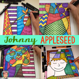 Johnny Appleseed Activity: Interactive and Pattern-filled Coloring Sheets