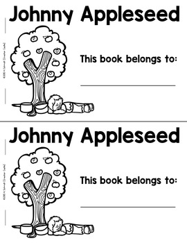 Johnny Appleseed Guided Reading Book