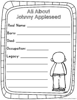 Johnny Appleseed Writing
