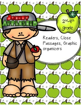 Johnny Appleseed Printable Reader