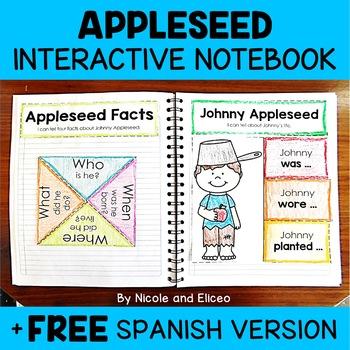 Interactive Notebook - Johnny Appleseed Activities