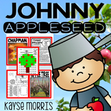Johnny Appleseed Activities Close Reading and Vocabulary