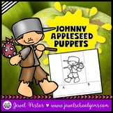 Johnny Appleseed Crafts Activities (Finger Puppets)