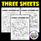 Johnny Appleseed Activities (Math Worksheets)