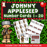Johnny Appleseed Activities : Counting Cards - Numbers 1-20 - Number Sense
