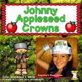 Johnny Appleseed Activities: Crowns and Wristbands - Johnn