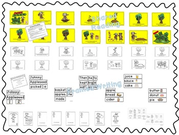 Johnny Appleseed--Literacy and Math Activities