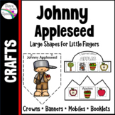 Johnny Appleseed  Apple Crafts Crowns, Banners and Mobiles