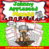 Johnny Appleseed Activities: Mazes - Problem Solving - Executive Function Skills