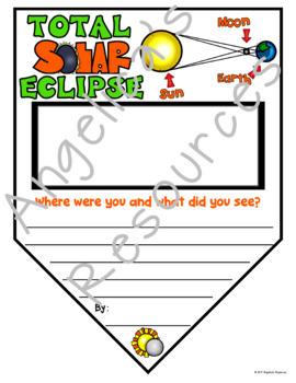 Total Solar Eclipse Activity : Solar Eclipse Summary Pennants
