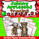 Johnny Appleseed Activities :  Tracing - Fine Motor Activi
