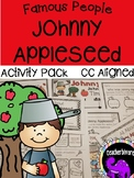 Johnny Appleseed Activity Pack {Kindergarten/First Grade}