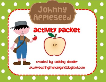 Johnny Appleseed Activity Packet