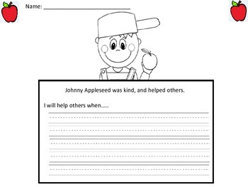 Johnny Appleseed Actvity Unit