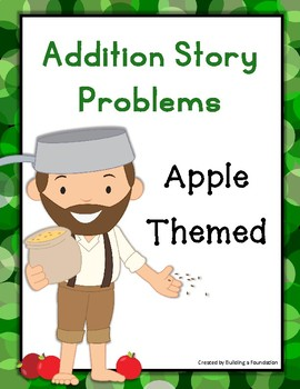Addition Word Problems: Apple Themed