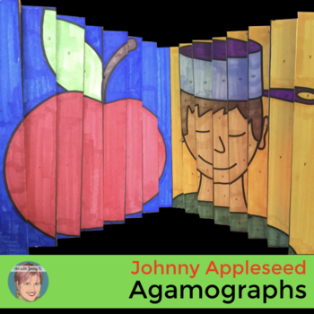 Johnny Appleseed Craft - Agamographs - Fall Activity