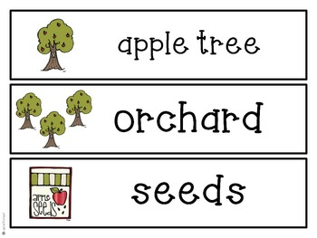 Johnny Appleseed & Apple Activities