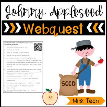 Johnny Appleseed & Apples Webquest
