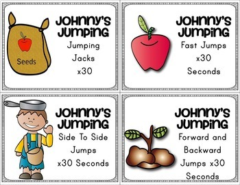 Johnny Appleseed Brain Breaks
