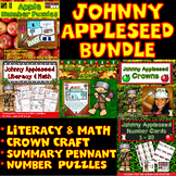 Johnny Appleseed Activities Bundle: Literacy, Math, Counti
