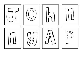 Johnny Appleseed CREATE-A-WORD
