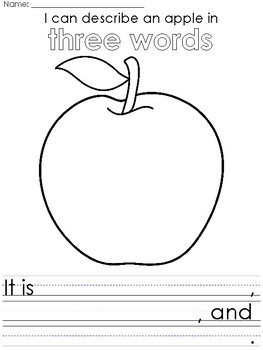 Johnny Appleseed Citizenship themed Writing Prompts and Worksheets